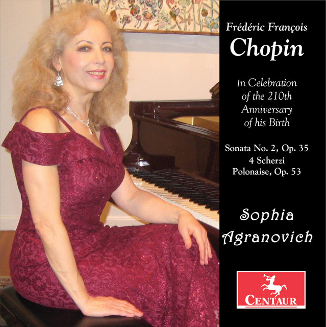 Album cover for Chopin: Piano Works by Frédéric Chopin, Sophia Agranovich
