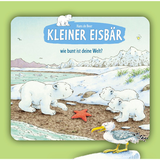 Kleiner Eisbär, wie bunt ist deine Welt?