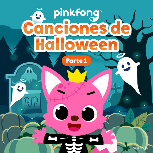Album cover for Canciones De Halloween (Parte 1) by Pinkfong