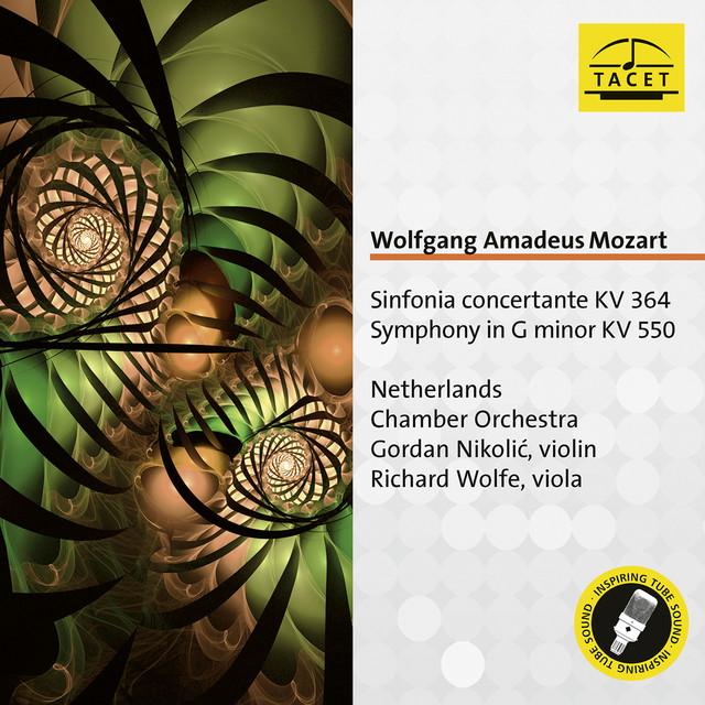 Mozart: Sinfonia concertante, K. 364 & Symphony No. 40, K. 550