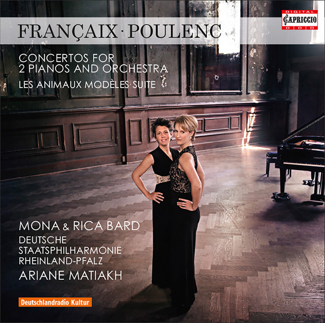 Françaix: Concerto for 2 Pianos - Poulenc: Les animaux modèles & Concerto for 2 Pianos in D Minor