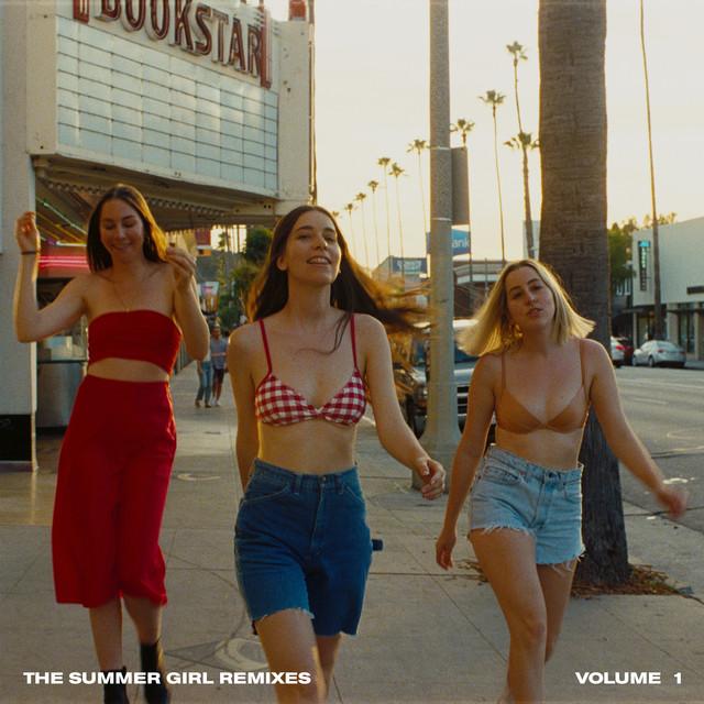 Cover art for Summer Girl - Lauren Auder Remix by HAIM