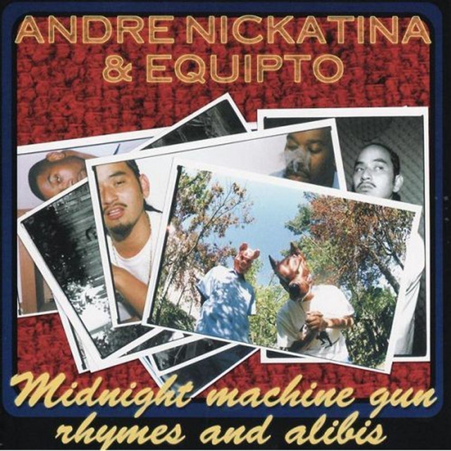 Andre Nickatina album cover