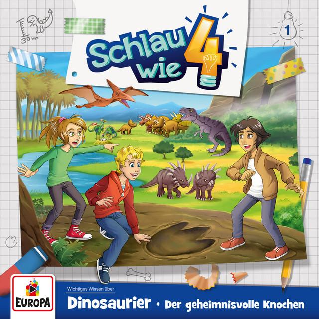 001 - Dinosaurier: Der geheimnisvolle Knochen Cover