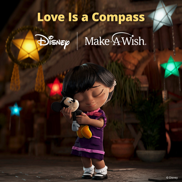 Love Is A Compass - Disney supporting Make-A-Wish
