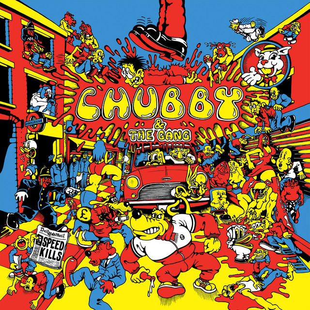 Cover art for Union Dues by Chubby and The Gang