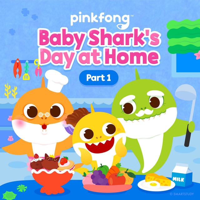 Baby Shark's Day at Home (Pt. 1)