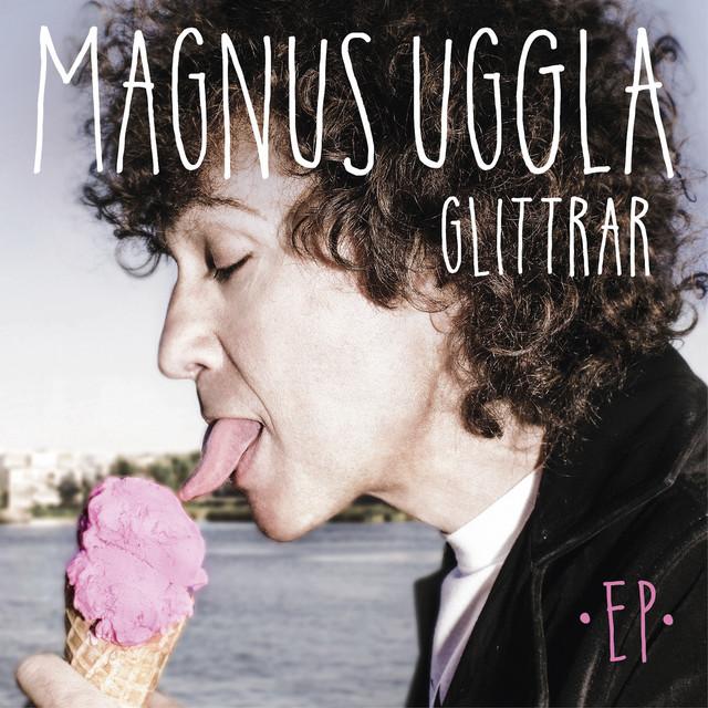 Skivomslag för Magnus Uggla: Glittrar