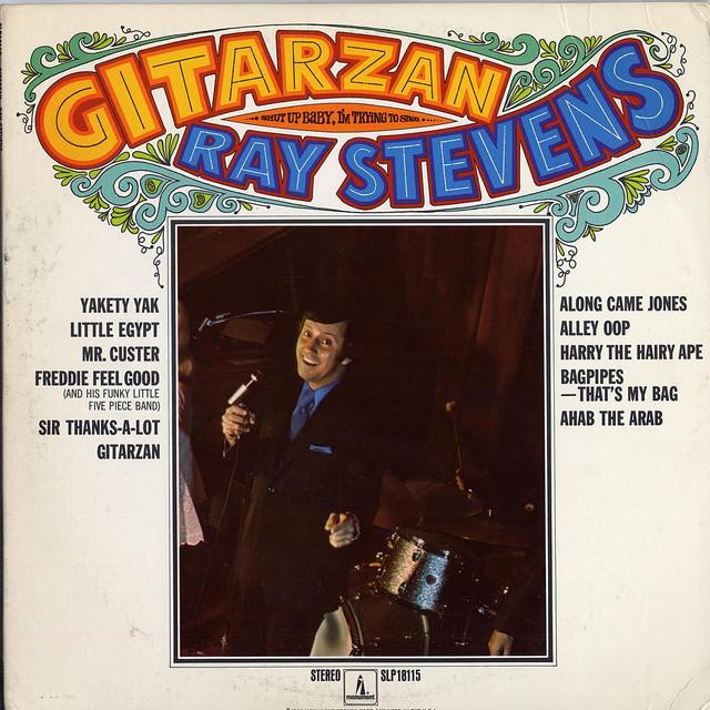 Gitarzan (69) album cover