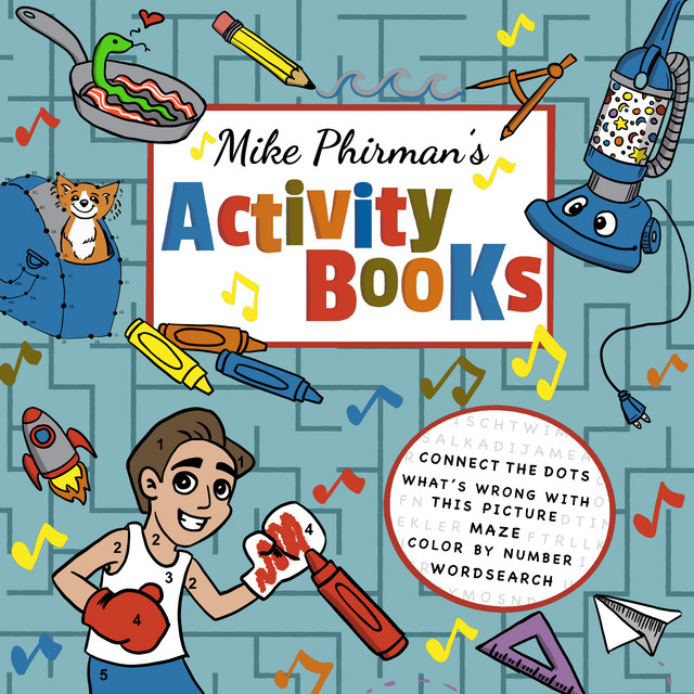 Activity Books by Mike Phirman