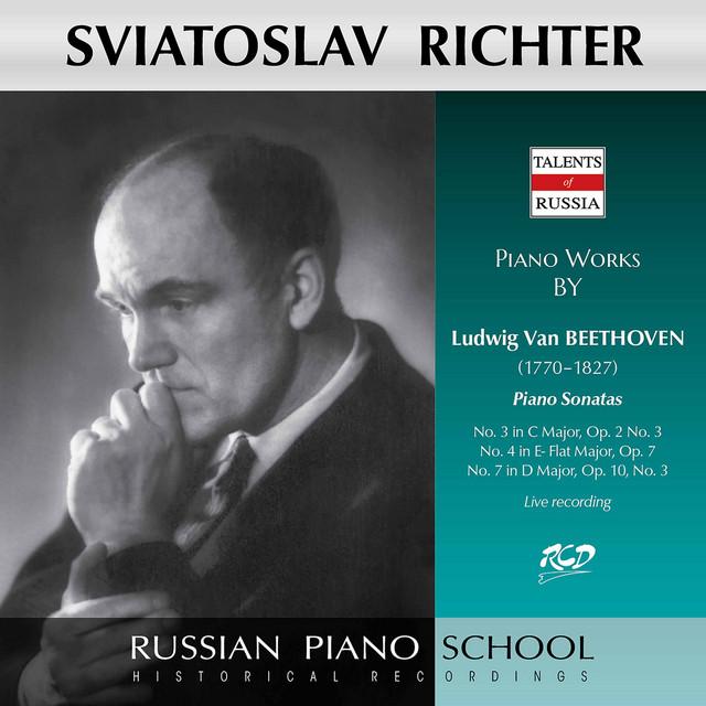 Beethoven: Piano Sonatas Nos. 3, 4 & 7 (Live)