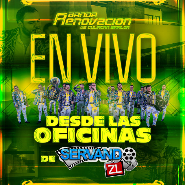 Album cover for En Vivo Desde Las Oficinas De Servando ZL by Banda Renovacion