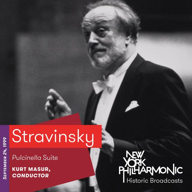 Stravinsky: Pulcinella Suite (Recorded 1999)