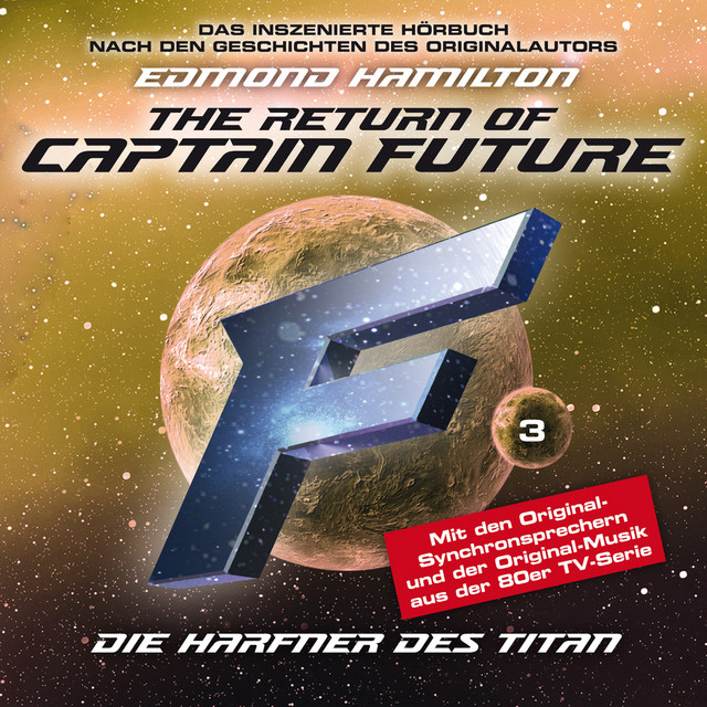 Folge 3: Die Harfner des Titan - nach Edmond Hamilton Cover