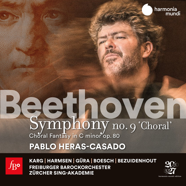 Album cover for Beethoven: Symphony No. 9 & Choral Fantasy by