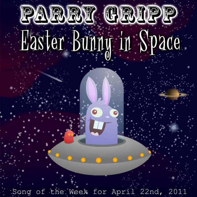 Easter Bunny In Space by Parry Gripp