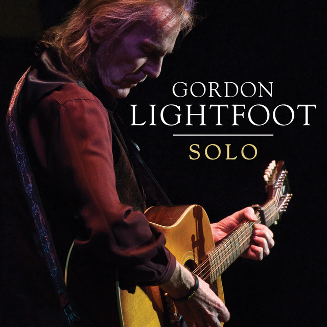 Album cover for Solo by Gordon Lightfoot