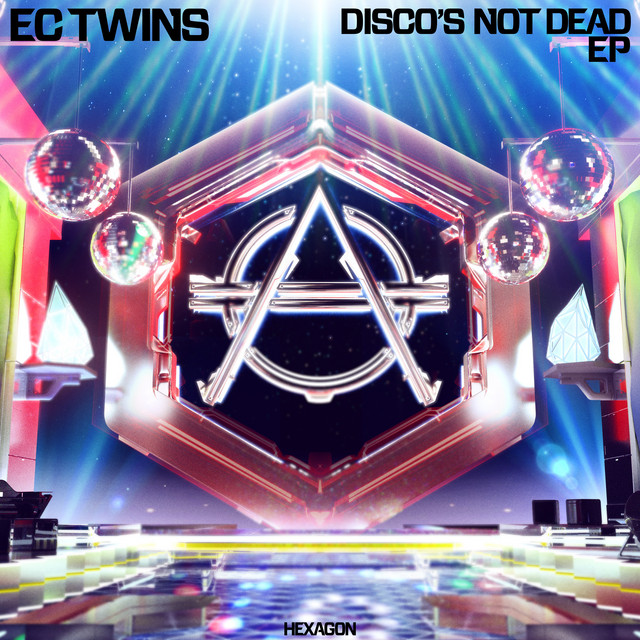 EC Twins - Disco\'s Not Dead cover