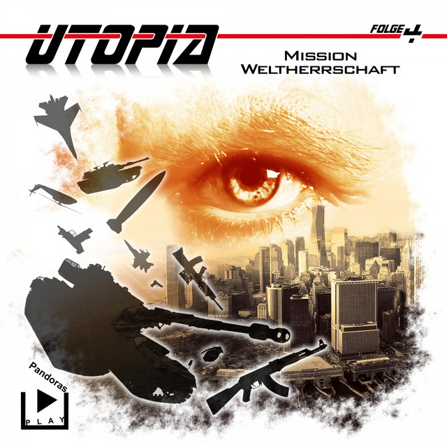 Utopia 4 - Mission Weltherrschaft Cover