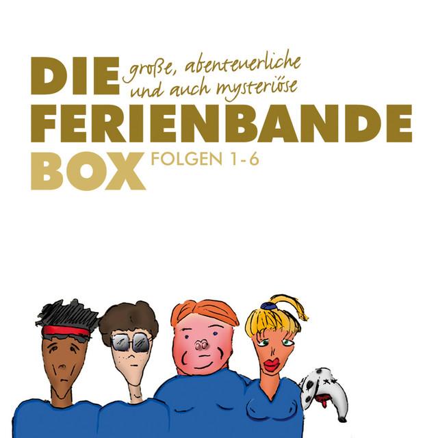 Die große, abenteuerliche und auch mysteriöse Ferienbande Box, Folge 1-6 Cover