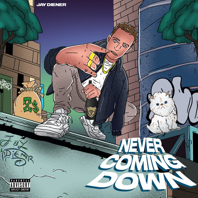 Never Coming Down Image