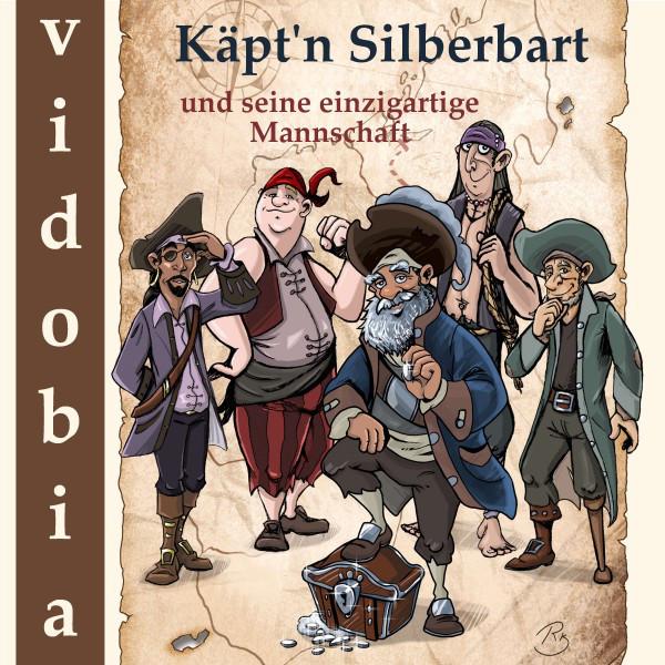 Käpt'n Silberbart und seine einzigartige Mannschaft (23 Piraten-Geschichten für Kinder zum Hören - Viele Stunden Hörspaß für klein und groß)