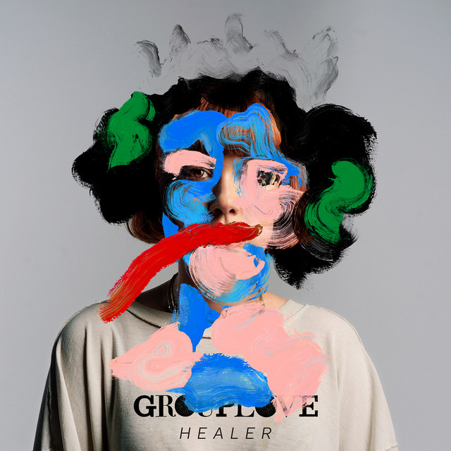 Album cover for Healer by Grouplove