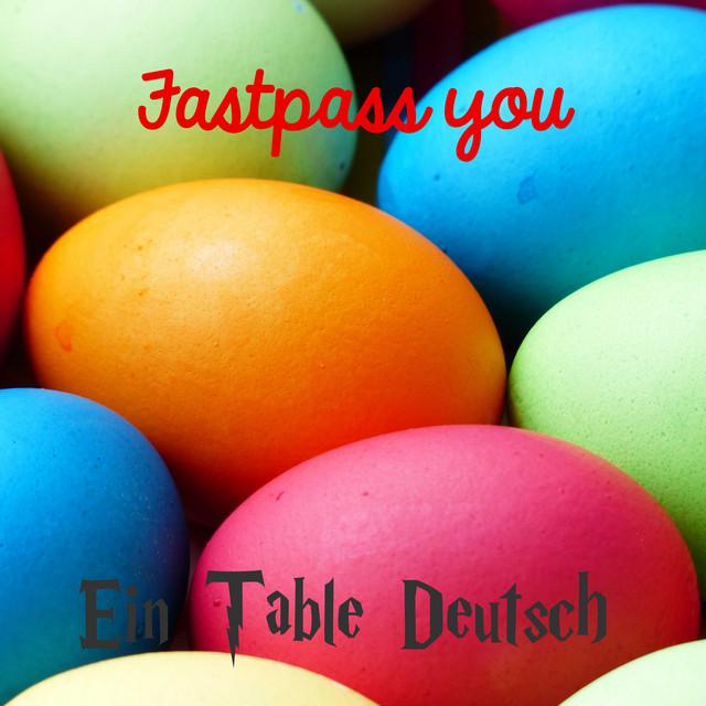 Ein Table Deutsch