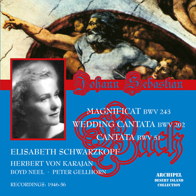 Elisabeth Schwarzkopf sings Bach