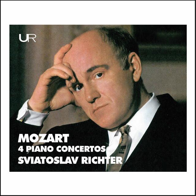 Richter plays Mozart: 4 Piano Concertos