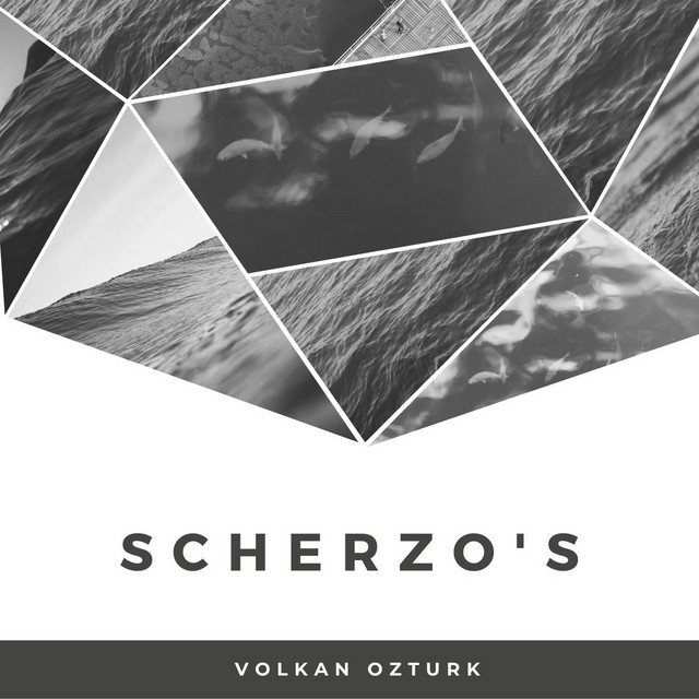 Album cover for Scherzo's by Frédéric Chopin, Volkan Öztürk