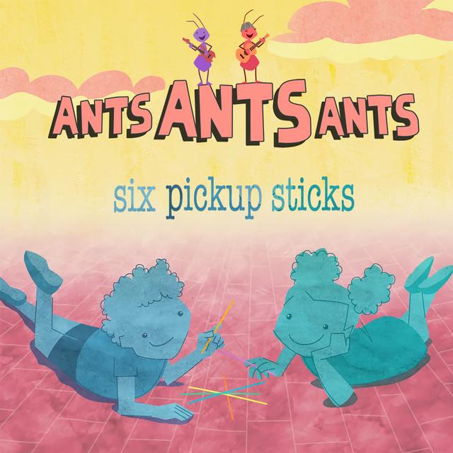 Six Pickup Sticks by Ants Ants Ants