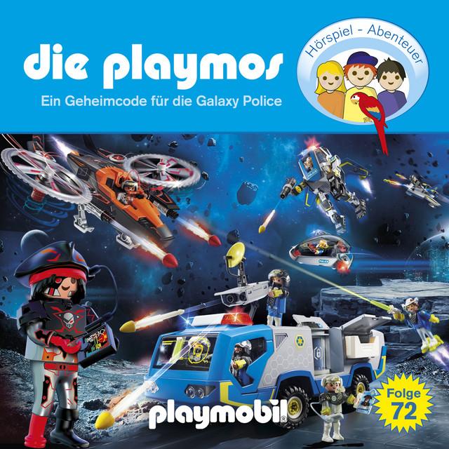 Folge 72: Ein Geheimcode für die Galaxy Police (Das Original Playmobil Hörspiel) Cover