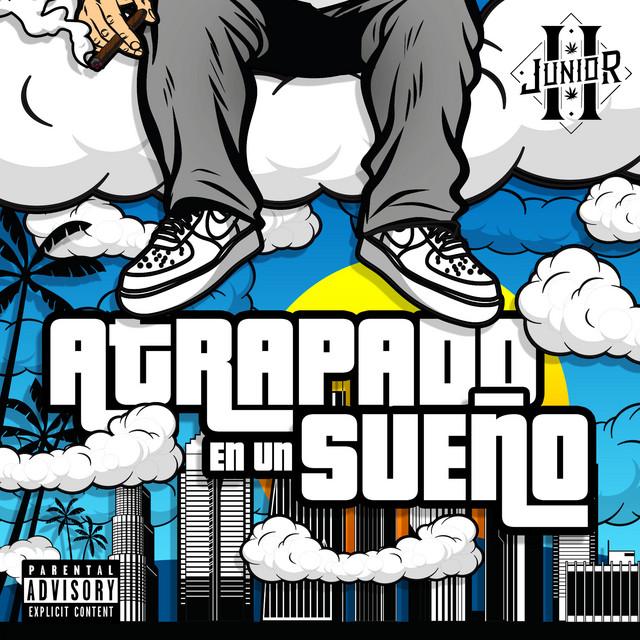 Album cover for Atrapado en un Sueño (Deluxe) by Junior H
