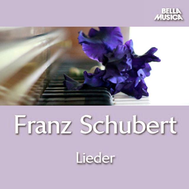Album cover for Schubert: Lieder by