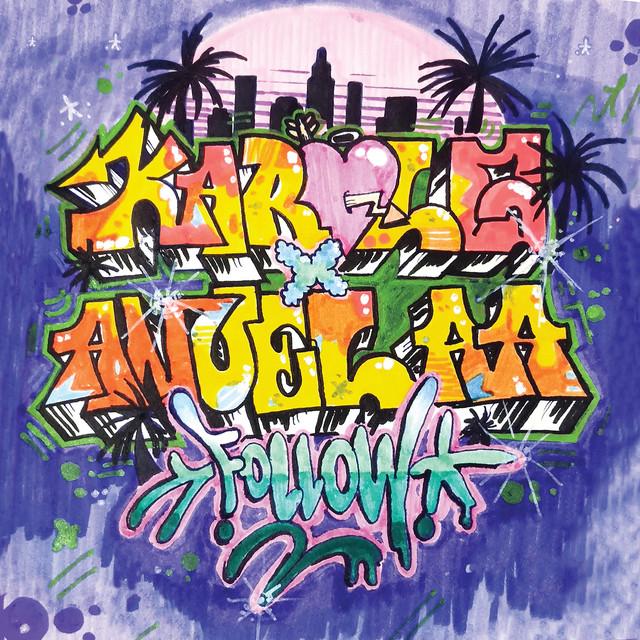 Anuel AA & Karol G - Follow cover