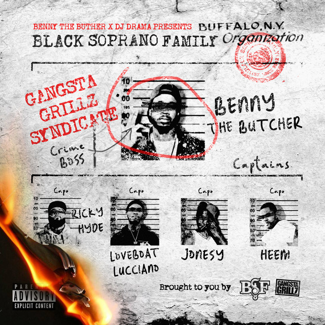 Benny the Butcher & DJ Drama Presents Black Soprano Family