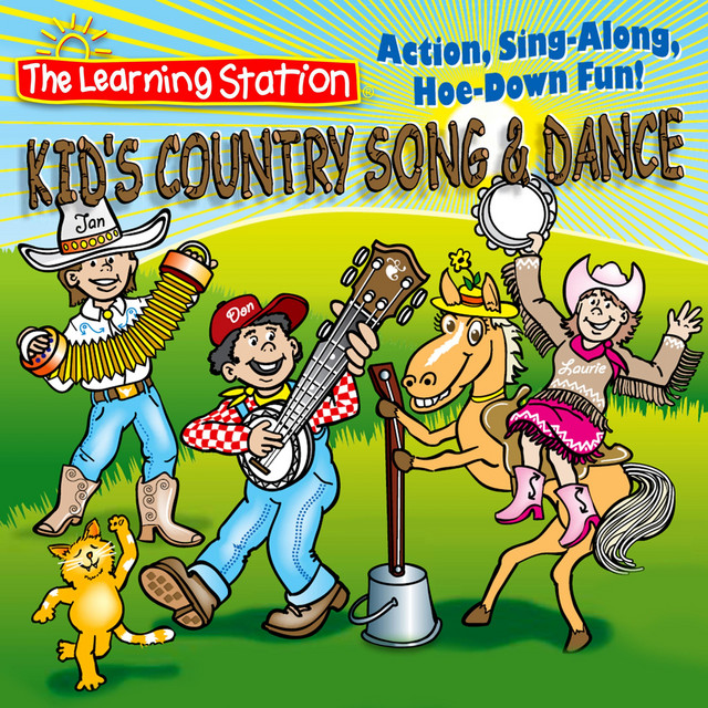 Kid's Country Song & Dance by The Learning Station