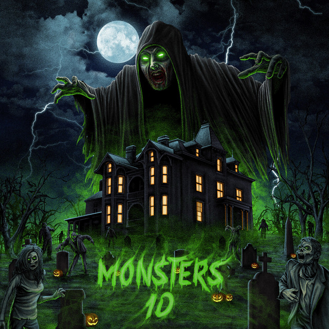 Album cover for Monsters 10 by Figure