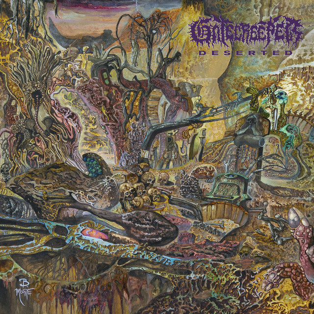 Album cover for Deserted by Gatecreeper