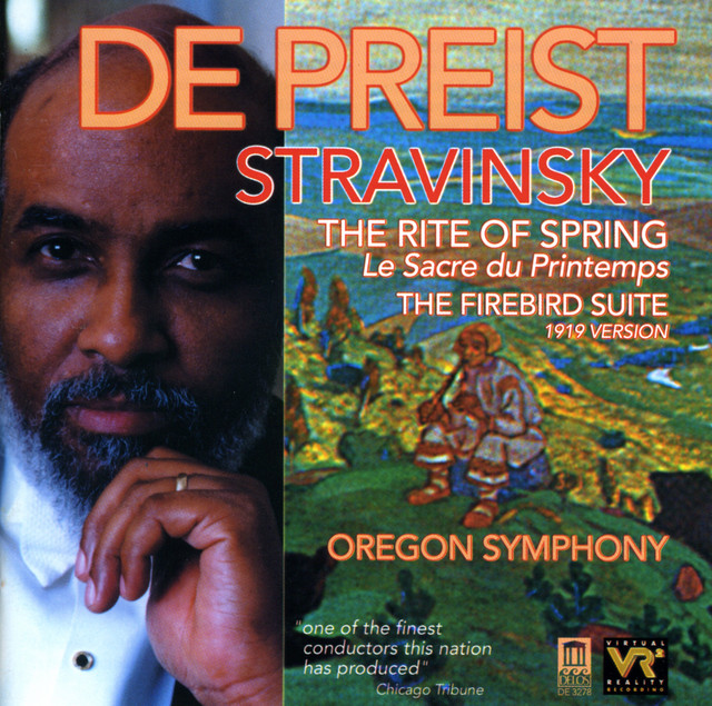 Stravinsky, I.: Rite of Spring (The) / The Firebird Suite (1919 Version)