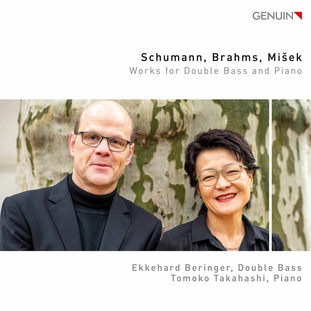 Schumann, Brahms & Mišek: Works for Double Bass & Piano