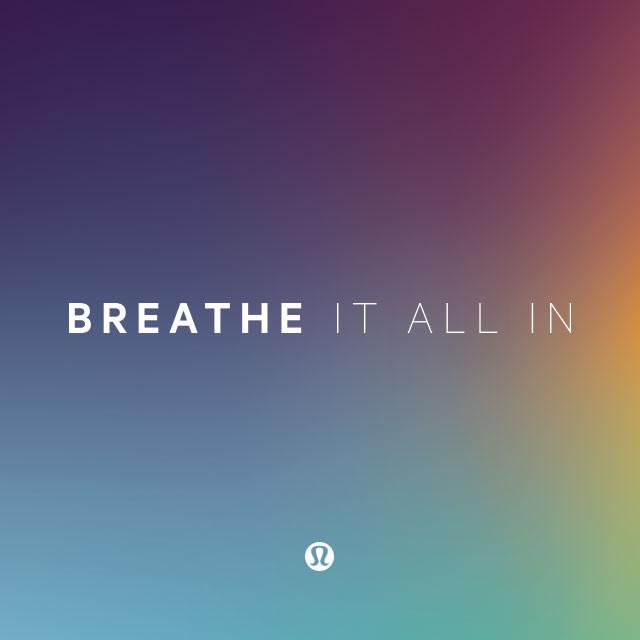 lululemon: Breathe It All In