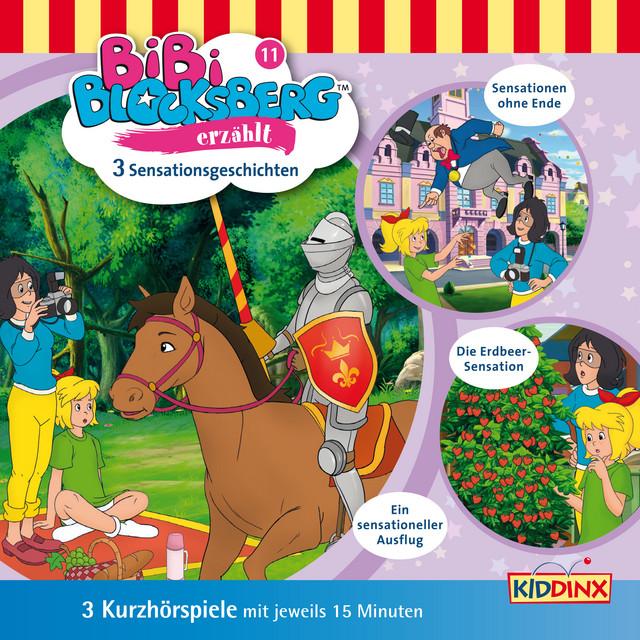 Kurzhörspiele - Bibi erzählt: Sensationsgeschichten Cover