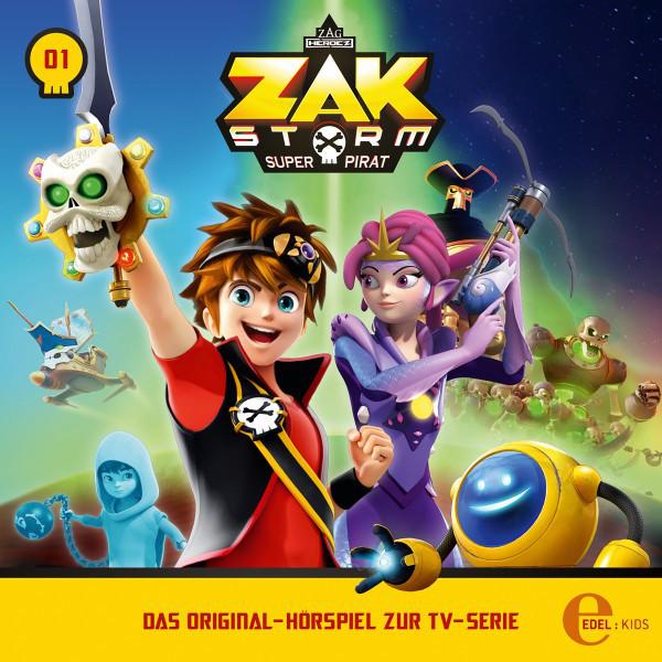 Folge 1: Captain Zak (Das Original-Hörspiel zur TV-Serie) Cover