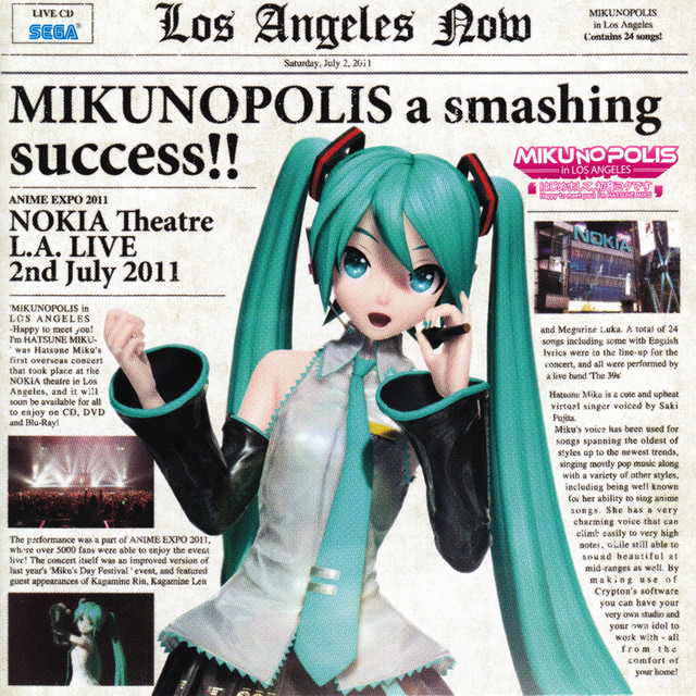 ワールドイズマイン -MIKUNOPOLIS in LOS ANGELES Live-