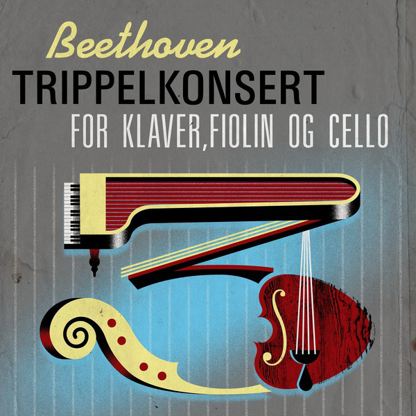 Beethoven Trippelkonsert for klaver,fiolin og cello
