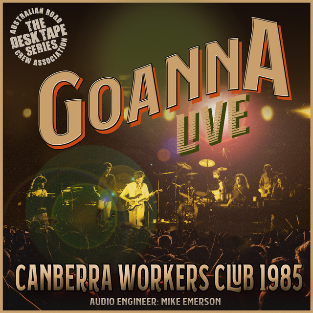 Live at The Canberra Workers Club 1985
