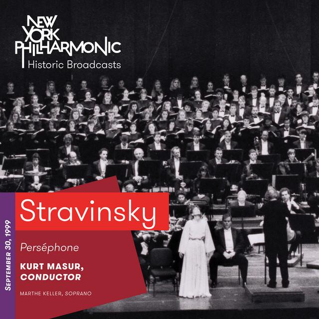 Stravinsky: Perséphone (Recorded 1999)