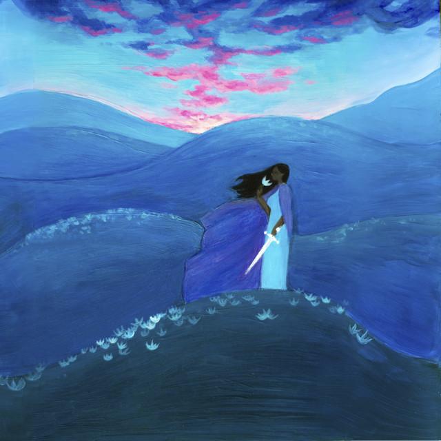 Artwork for White Flower, Dark Hill by Nailah Hunter